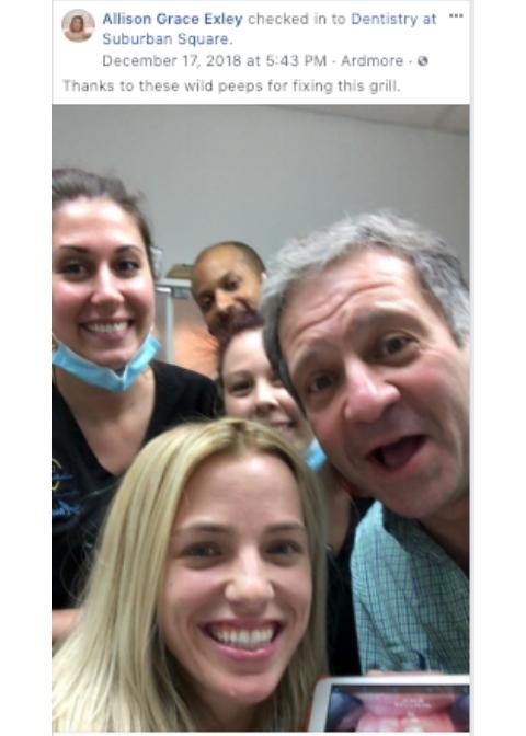Allison's Invisalign Selfie