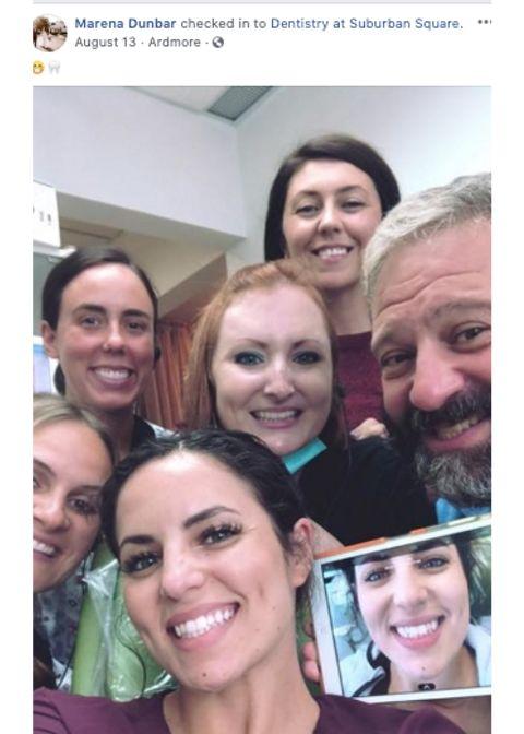 Marena Invisalign Selfie